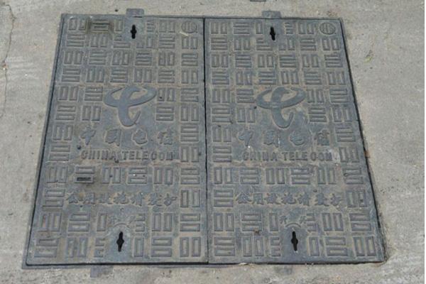 武汉球墨铸铁井盖-工程案