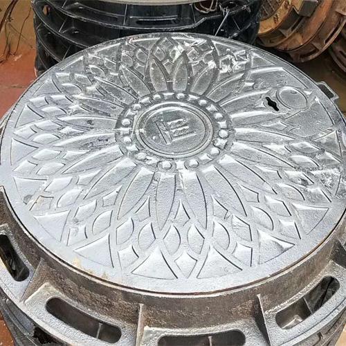 湖北球墨铸铁井盖-球墨铸铁井盖